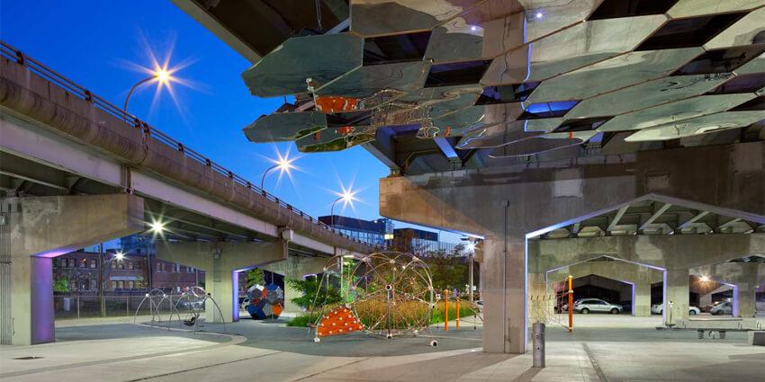 Pasos bajo nivel como espacios de integración urbana