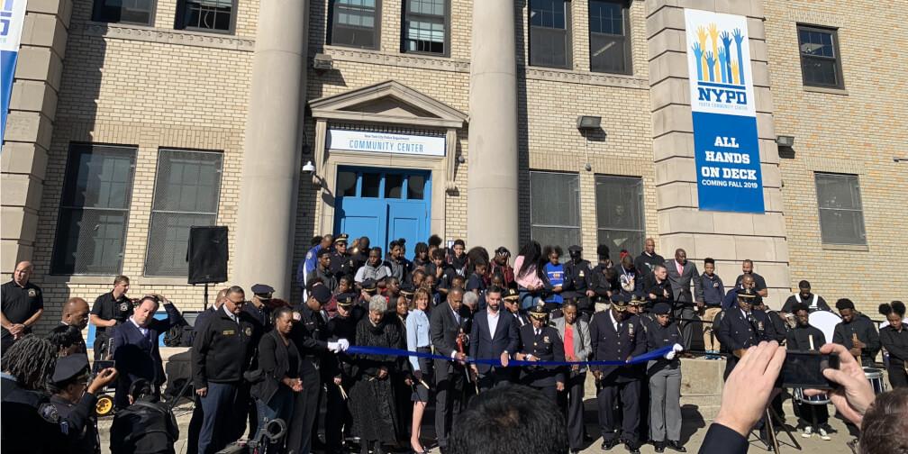 NYPD abre centro comunitario en NYC