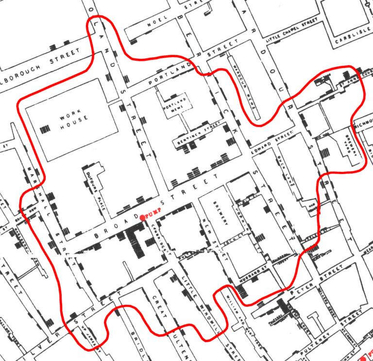 Mapa John Snow