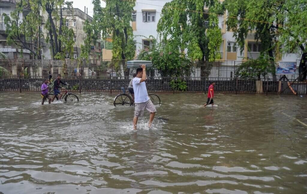 Inundaciones Mumbai