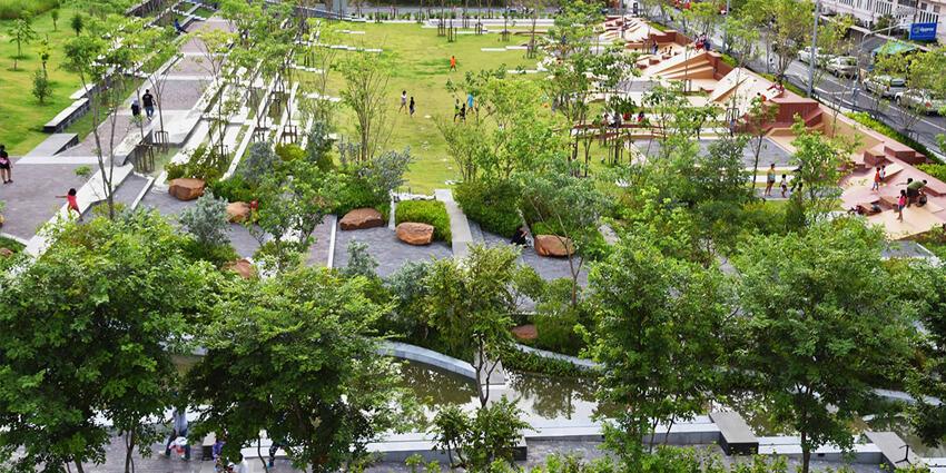 Parques inundables: el rol del espacio público en la gestión del agua