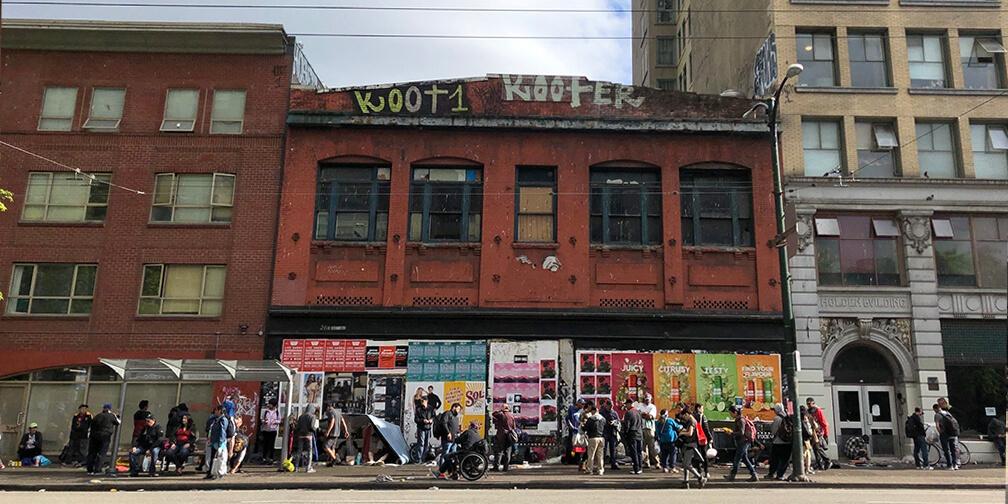 Vancouver, los opioides y la deformación de una de las mejores ciudades del mundo
