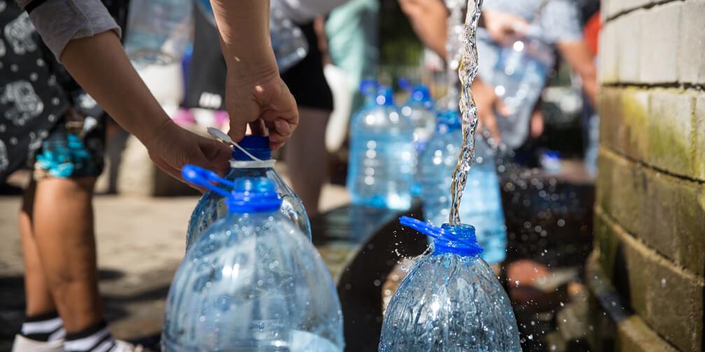 La amenaza de vivir sin agua