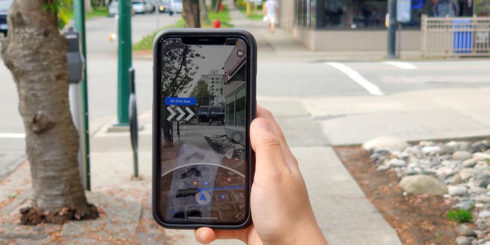 Nuevas funcionalidades para peatones en Google Maps
