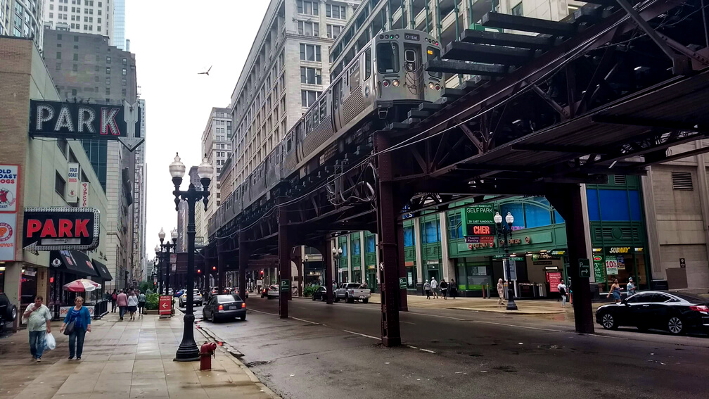 Sistema de Metro de Chicago