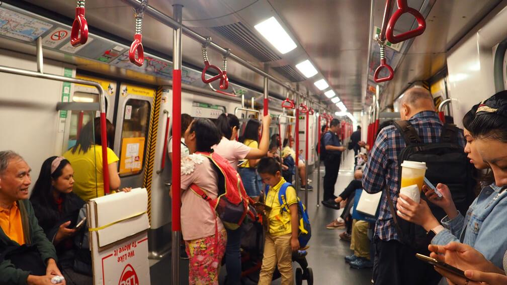 Vagón del MTR de Hong Kong