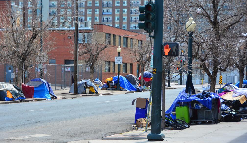Campamentos de personas en situacion de calle