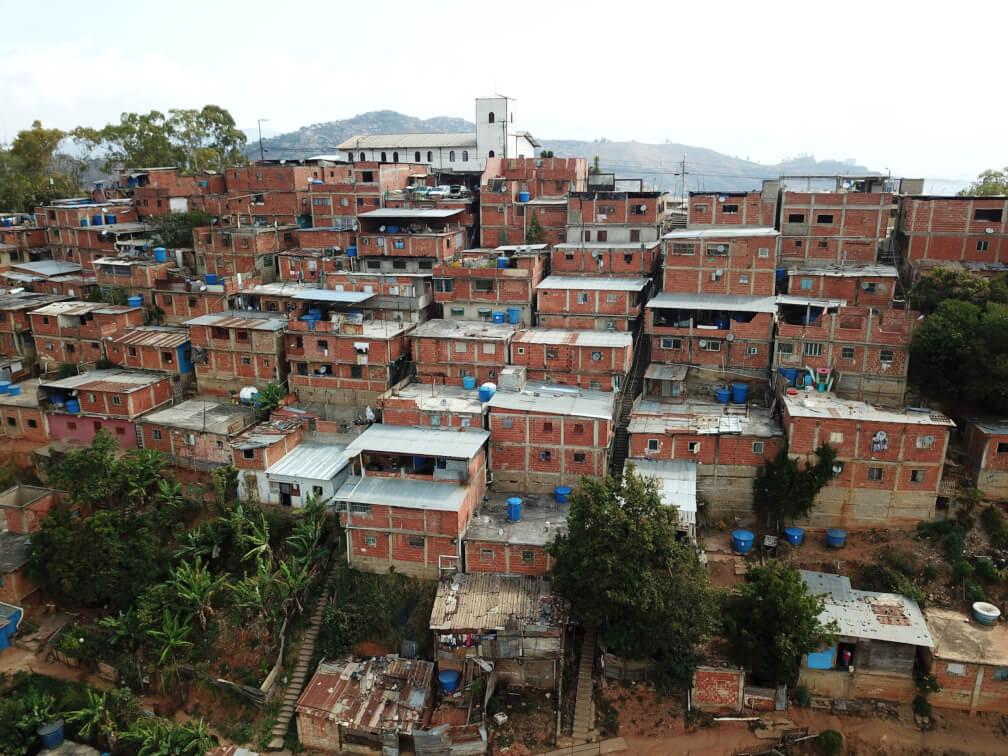 Vista del sector El Cardón en Caracas