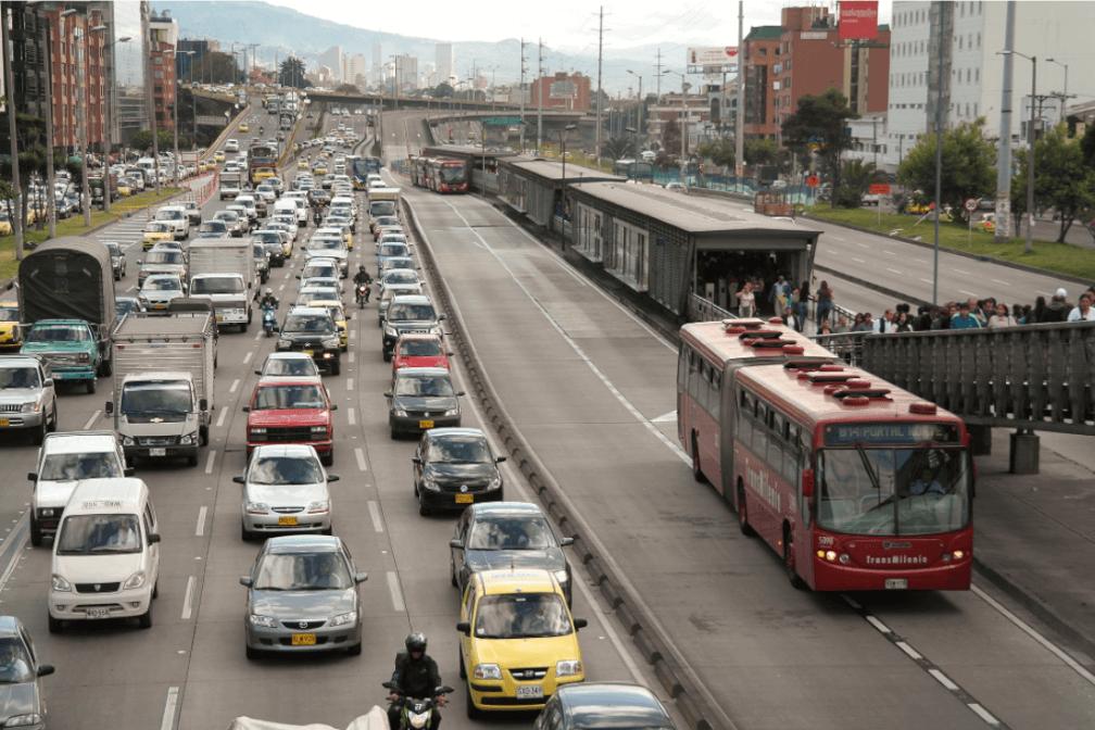 Línea BRT Bogotá
