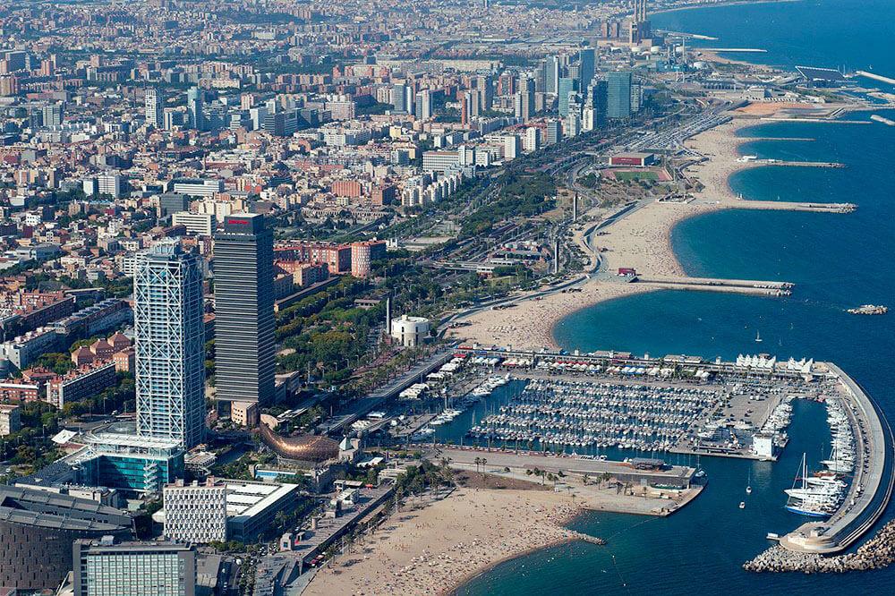Frente marítimo Barcelona