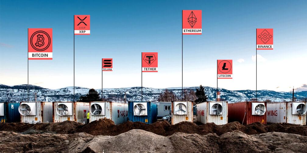 Criptomonedas: el impacto medioambiental de la minería digital