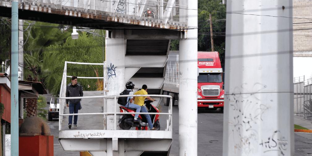 Las ciudades para el peatón son mejores sin puentes